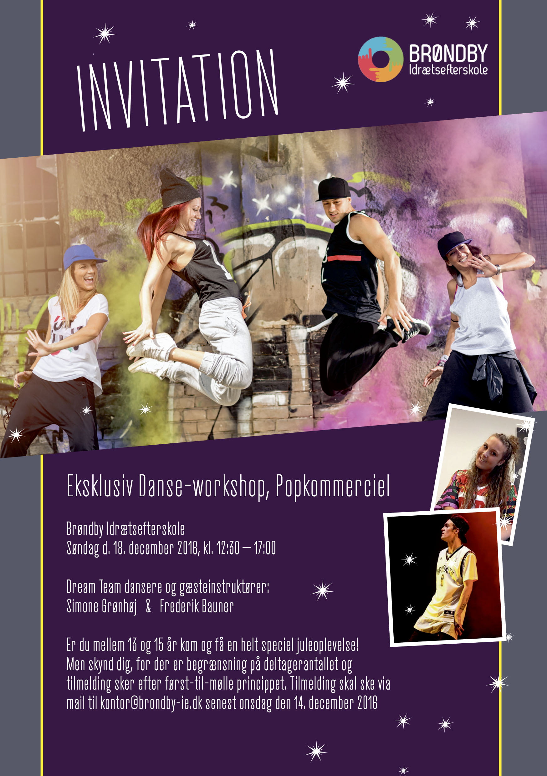 Eksklusiv danseworkshop på BIE